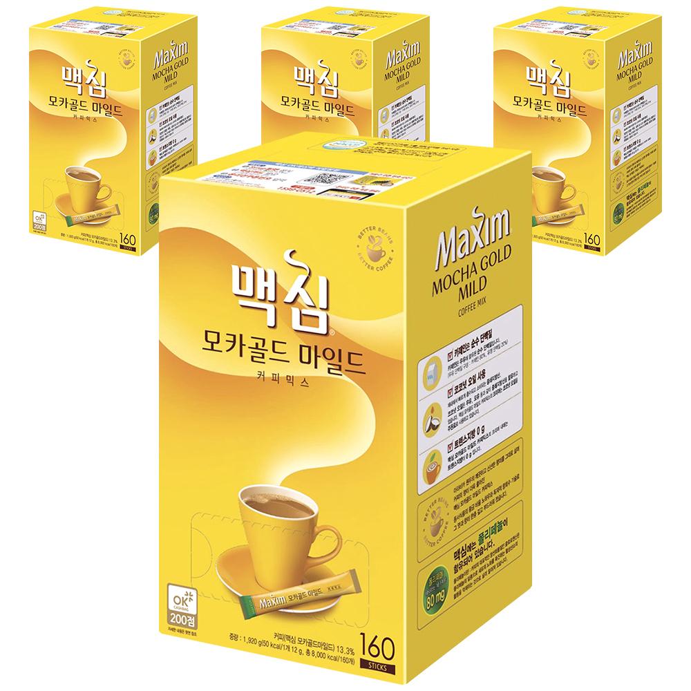 맥심 모카골드 마일드 커피믹스, 12g, 640개