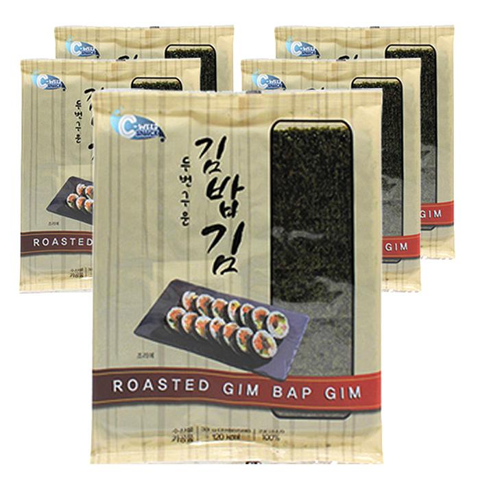 예맛 두번구운 김밥김, 33g, 5개
