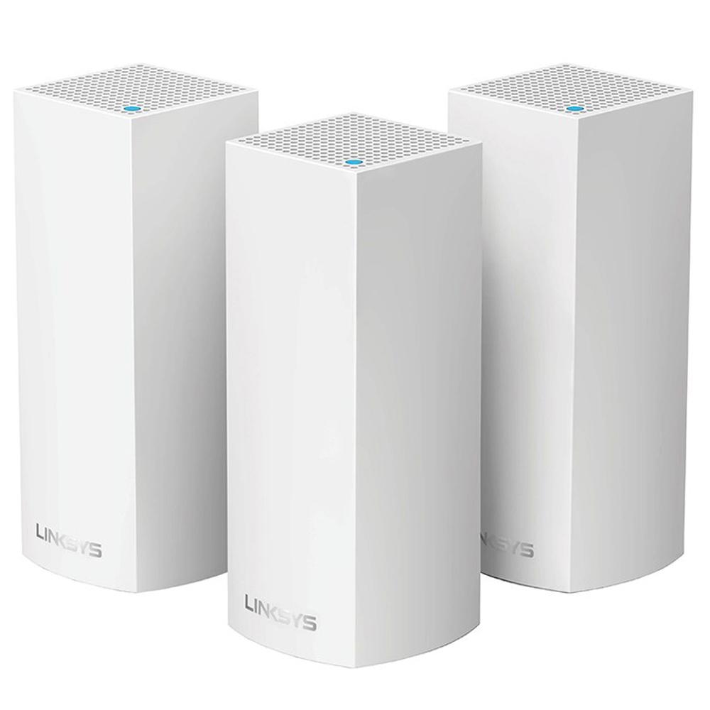 링크시스 벨롭 메시 Wi-Fi 트라이밴드 기가비트 와이파이 + 유무선공유기 3p, 와이파이(AC6600), 유무선공유기(WHW0303)