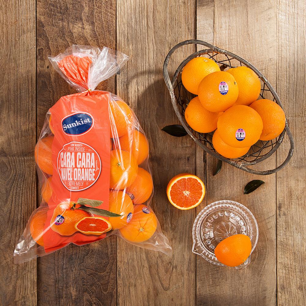 썬키스트 카라카라 오렌지, 2.7kg(9~18입), 1봉