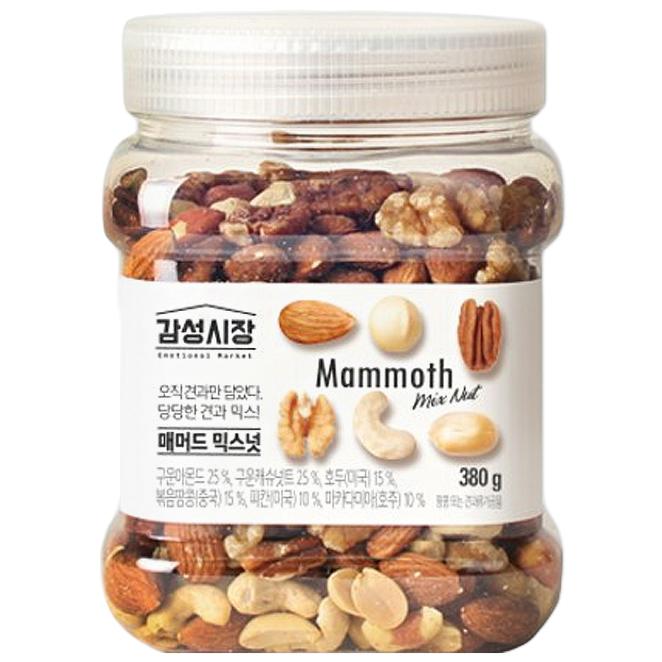 감성시장 매머드믹스넛, 380g, 1개