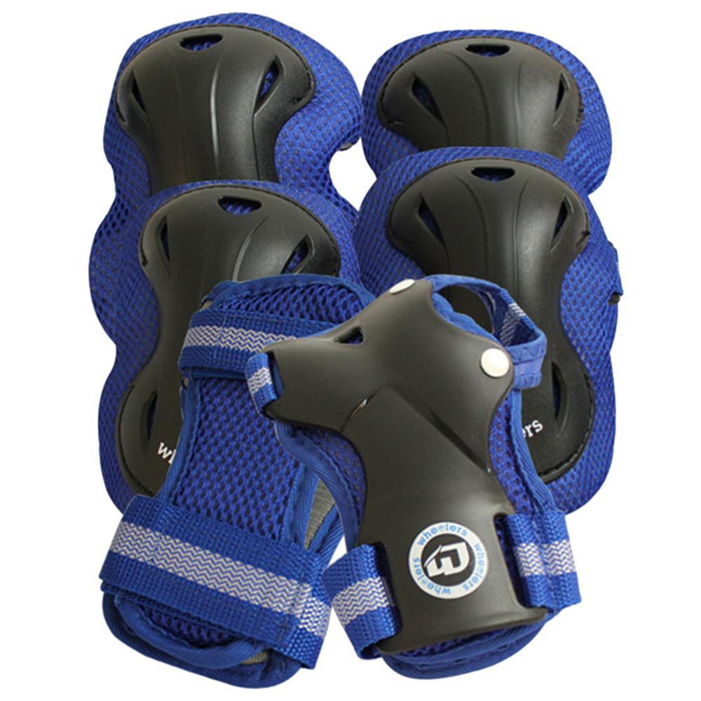 휠러스 나이스 아동용 보호대 중형 블루, 1세트