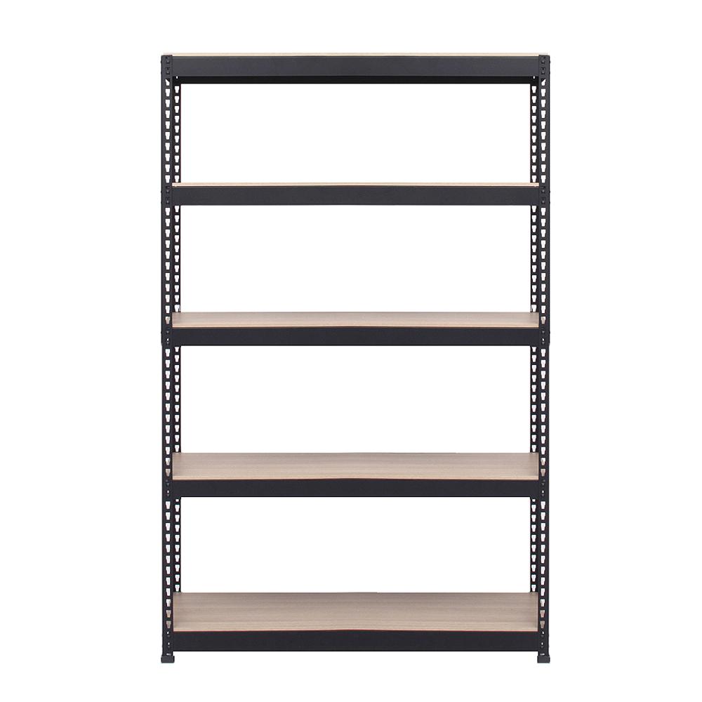 스피드랙 스탠드선반 5단 1000 x 500 x 1800 mm, 블랙