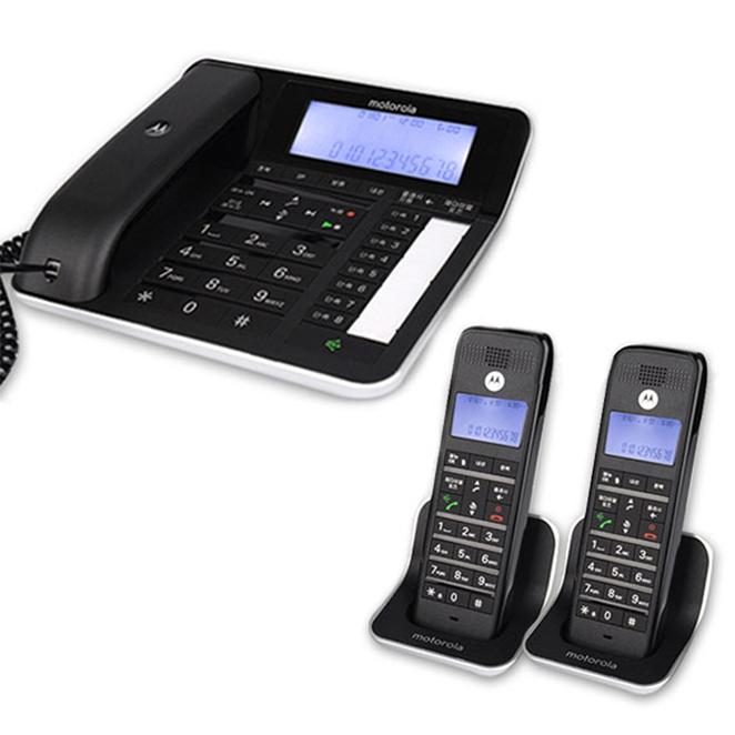 모토로라 유 + 무선 전화기 C7201A + 휴대장치