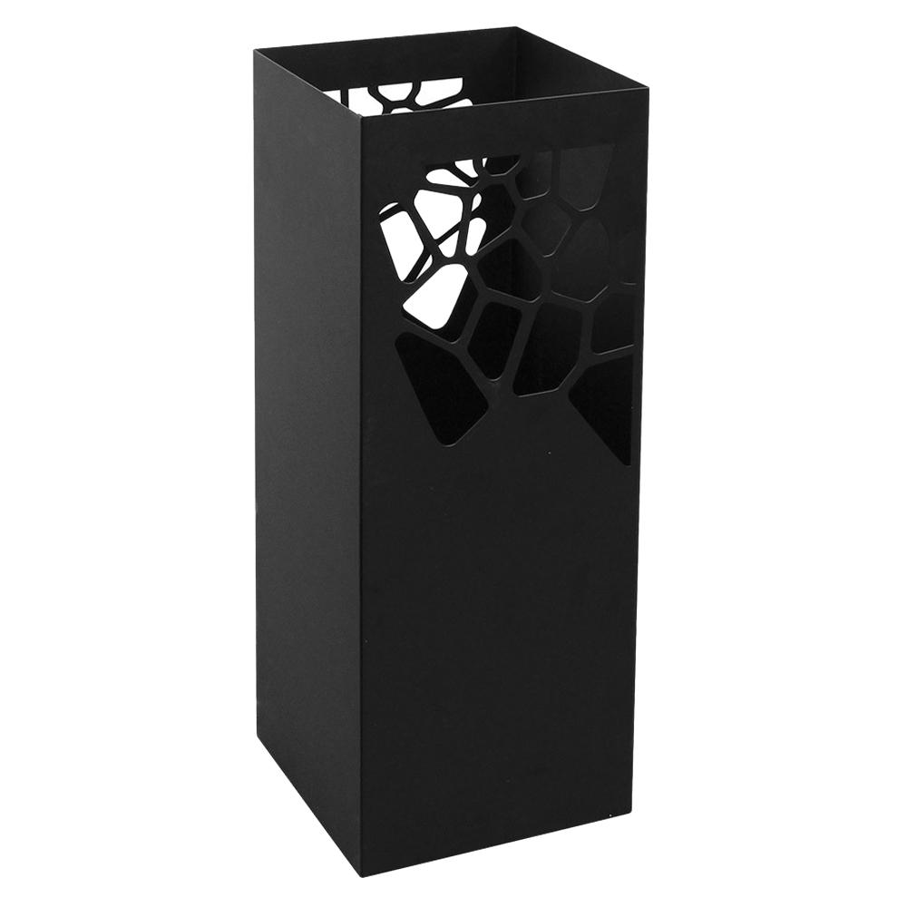 비스비바 스톤 철제 우산꽂이 블랙, 1개
