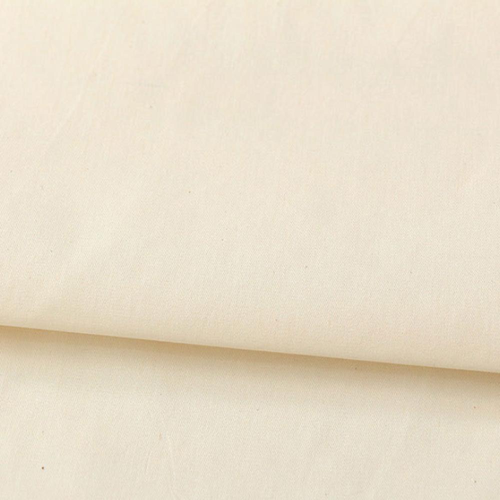 코하스아이디 대폭 40수 실습용 트윌 광목 패브릭원단, 내추럴