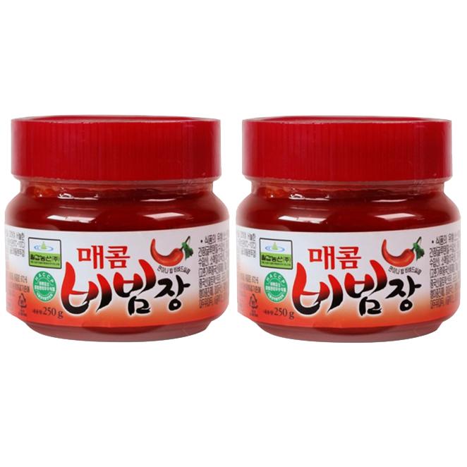 칠갑농산 매콤 비빔장, 250g, 2개