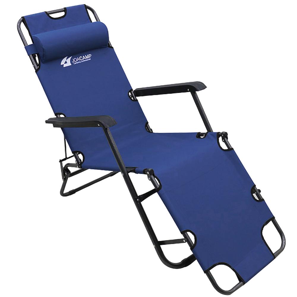 조아캠프 3단 침대의자 특대, 네이비, 1개