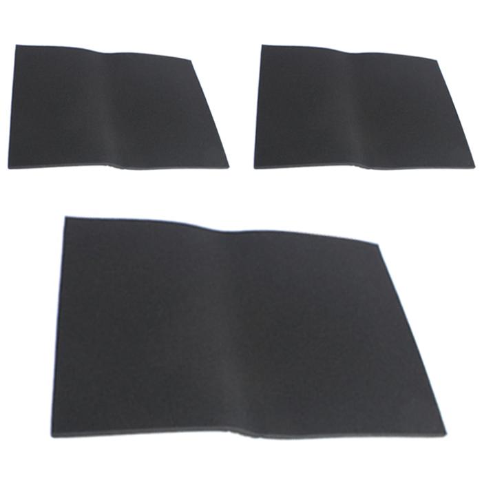 삼호 여과기 스펀지 필터 블랙 35ppi 1cm, 3개입