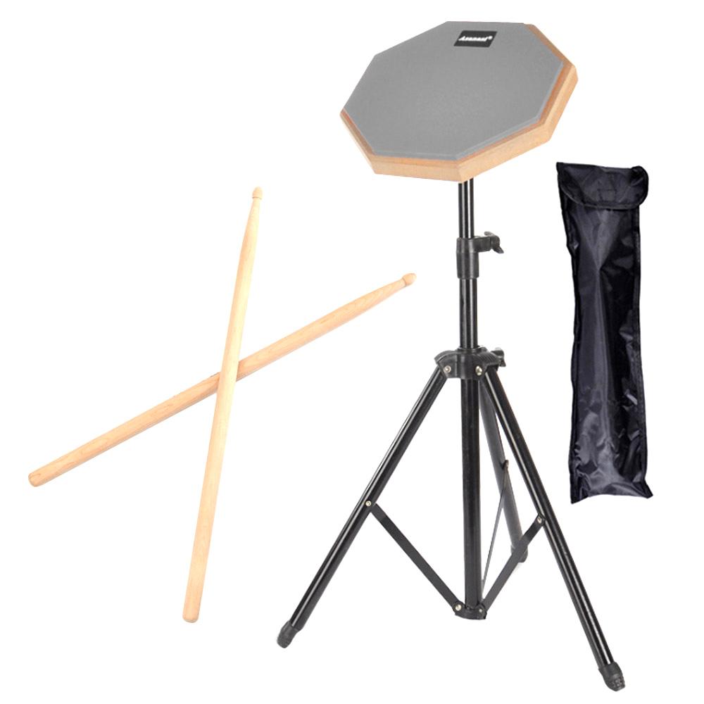 모나코올리브 휴대용 드럼연습패드 + 스틱 + 가방 풀세트, 혼합 색상, 1세트