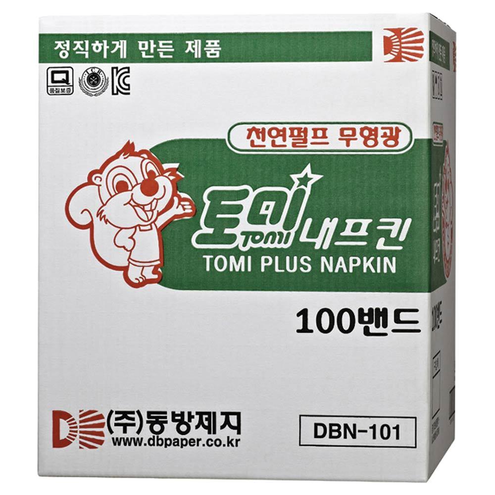 동방제지 토미 냅킨, 100매, 100개