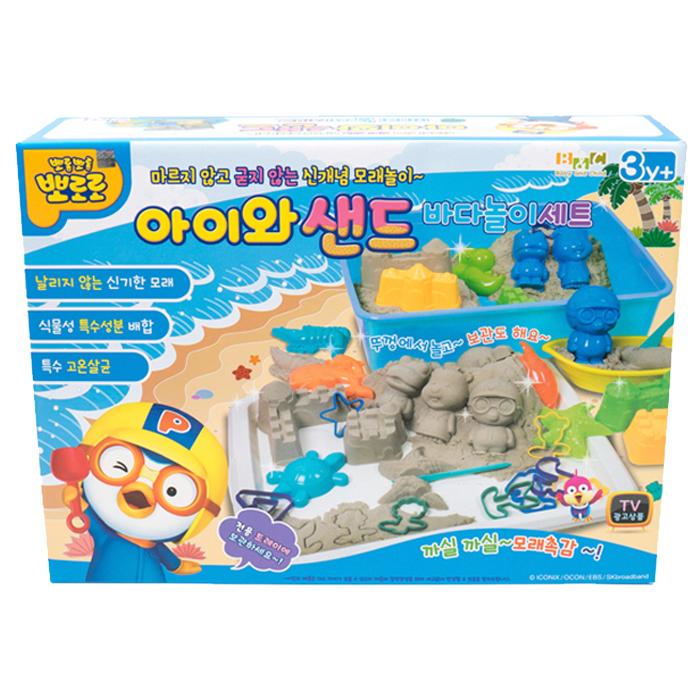 뽀로로 아이와 샌드 바다놀이세트, 혼합 색상, 3390g