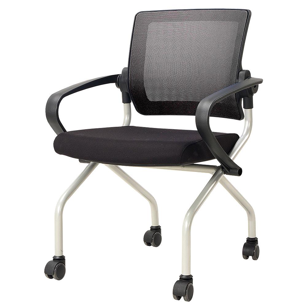 체어클럽 오피스팝 MT20 의자, 블랙