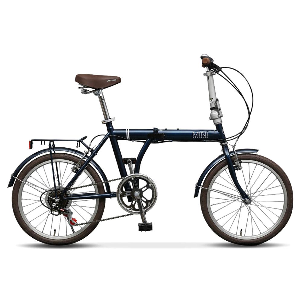 바이맥스 반티아고 미니벨로 자전거 20 VANTIAGO MINI, Cobalt Blue