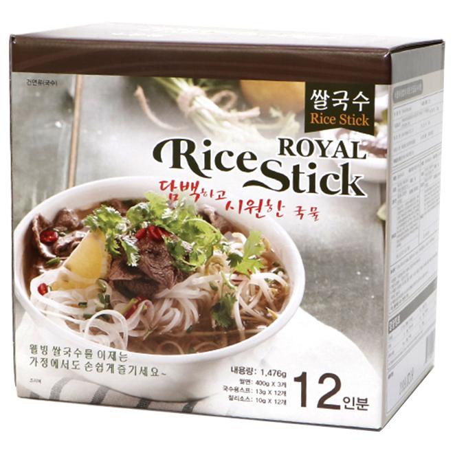 로얄 라이스스틱 베트남 쌀국수 12인분, 1476g, 1개