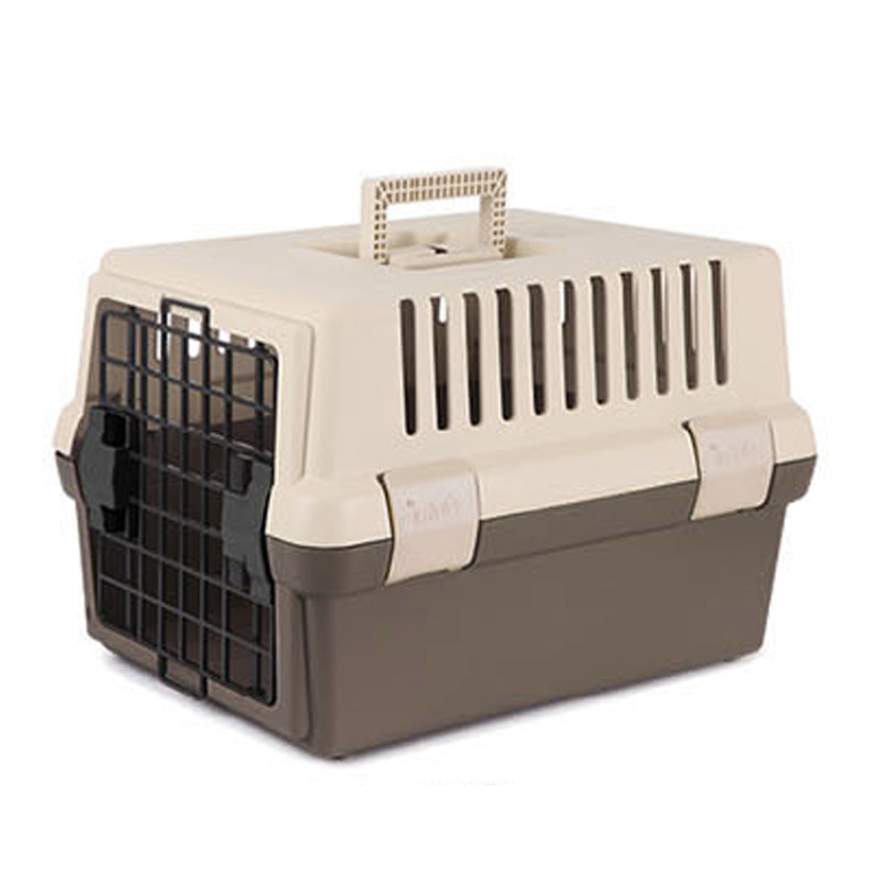 푸르미 애완동물 전용 이동장 하드형, 브라운