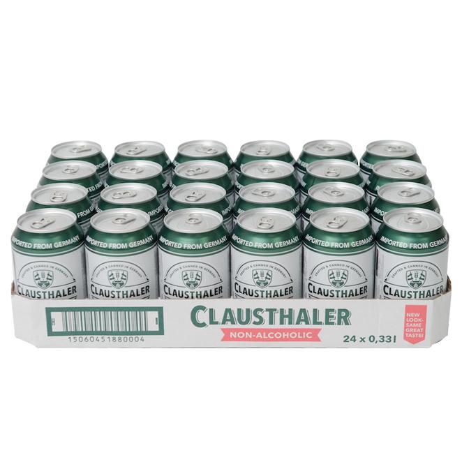 크라우스탈러 무알콜 캔맥주, 330ml, 24개입