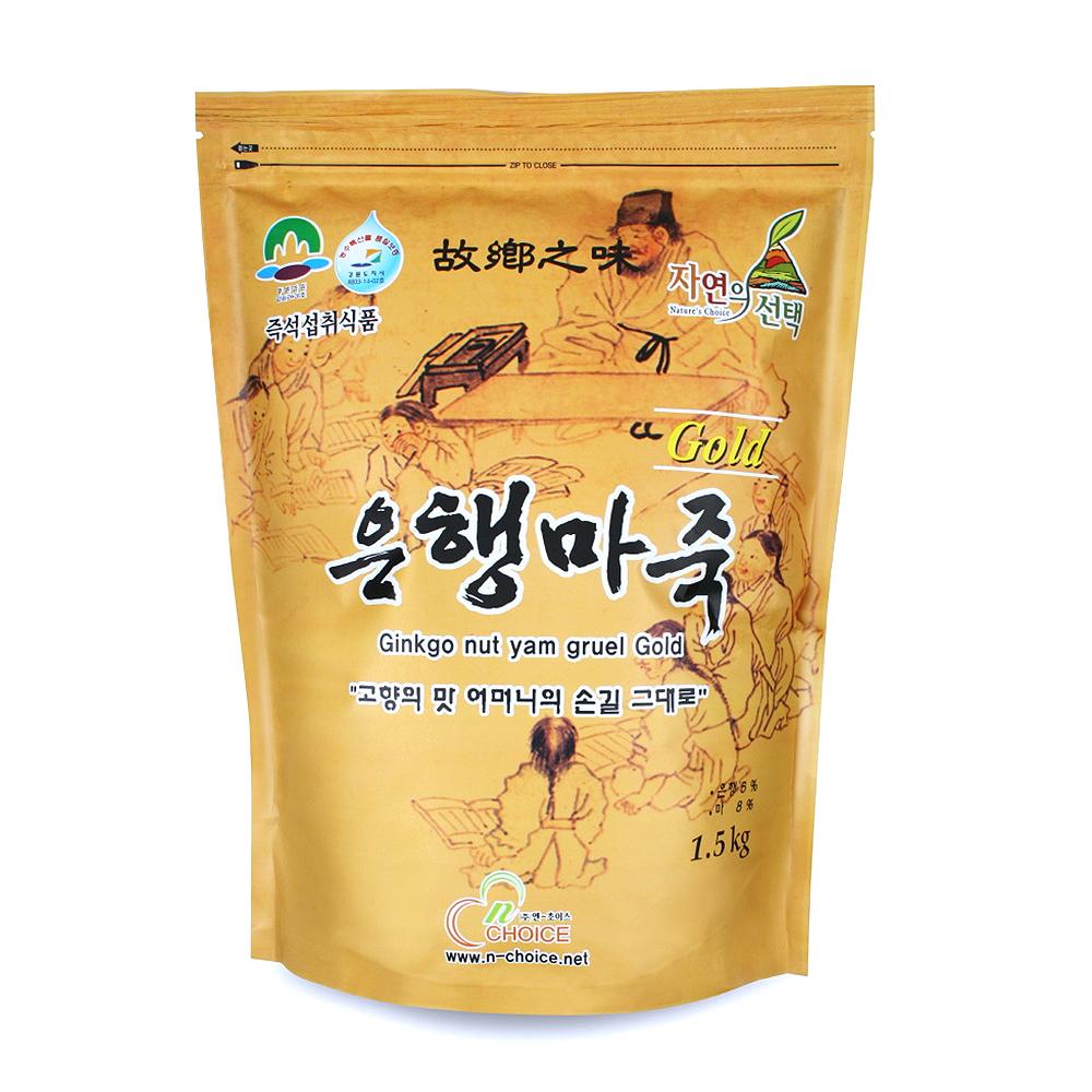 엔초이스_은행마죽골드, 1.5kg