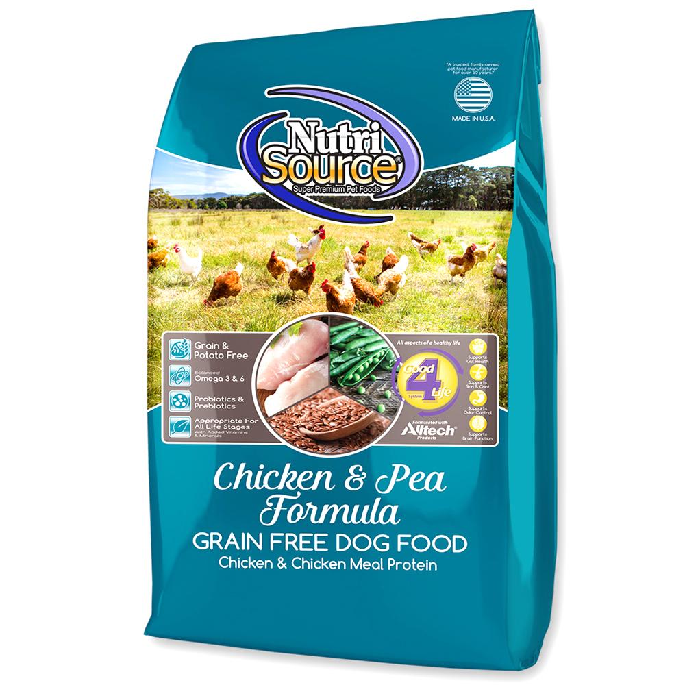 뉴트리소스 그레인프리 치킨 애견사료 6.8kg