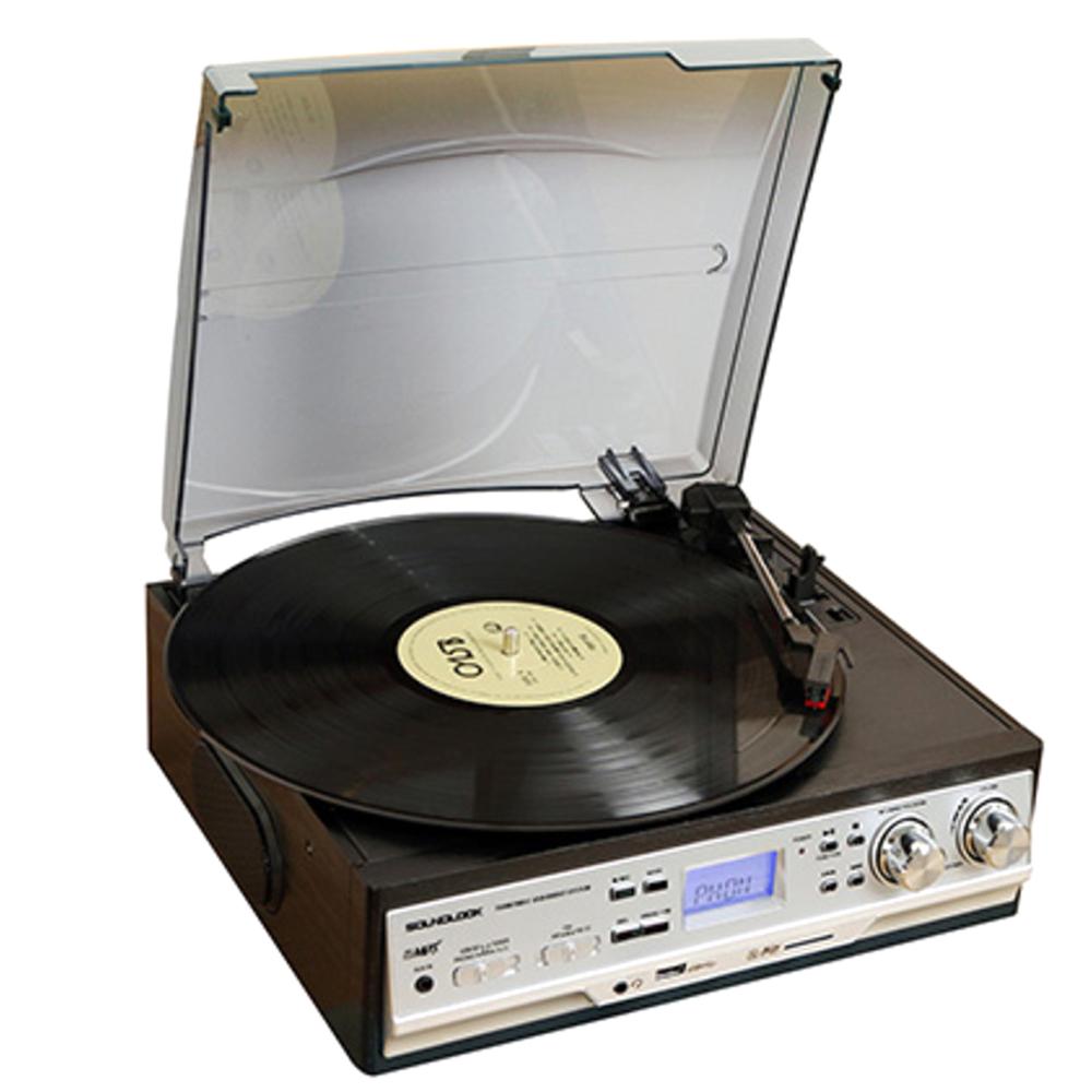 사운드룩 LP 라디오 턴테이블 SLT-2080