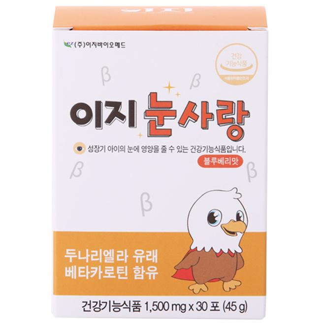 이지바이오메드 이지눈사랑 유아건강식품 30p, 45g, 1개