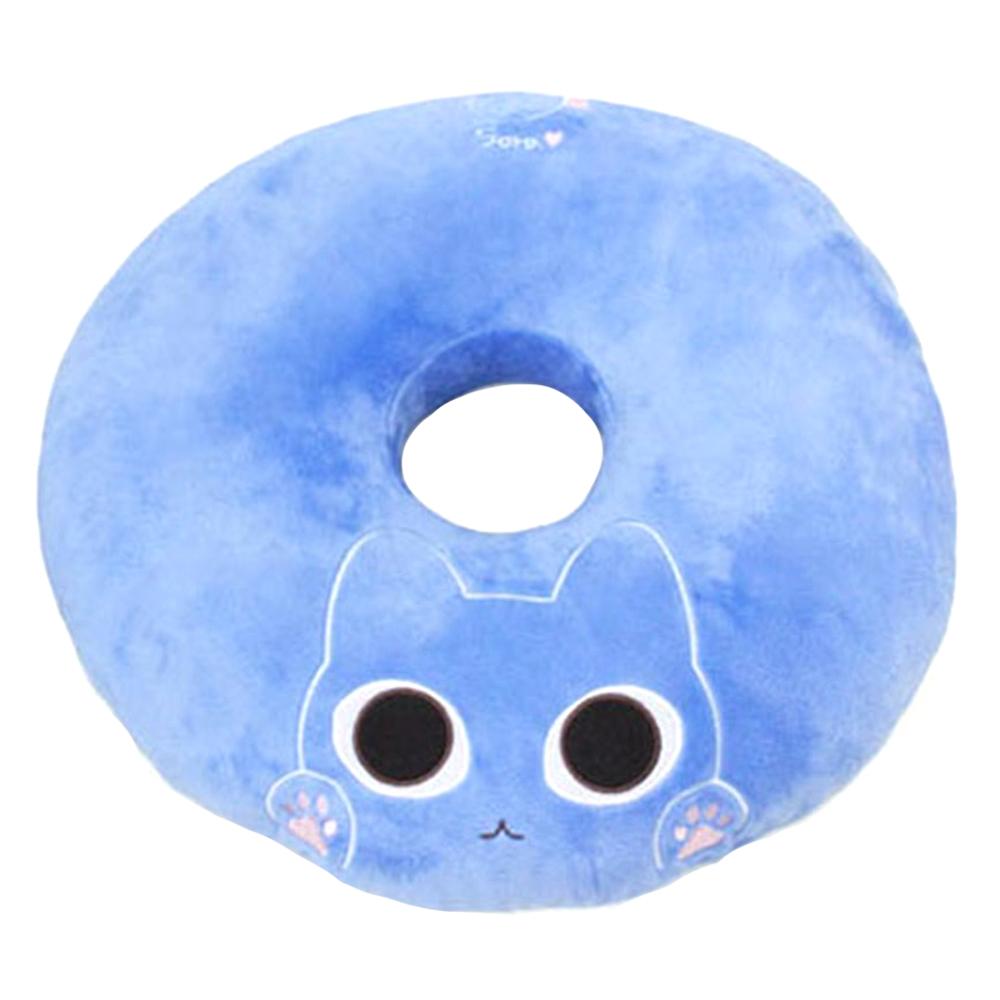 애니나라 헬로캣 도넛 방석 N, 소라(블루)
