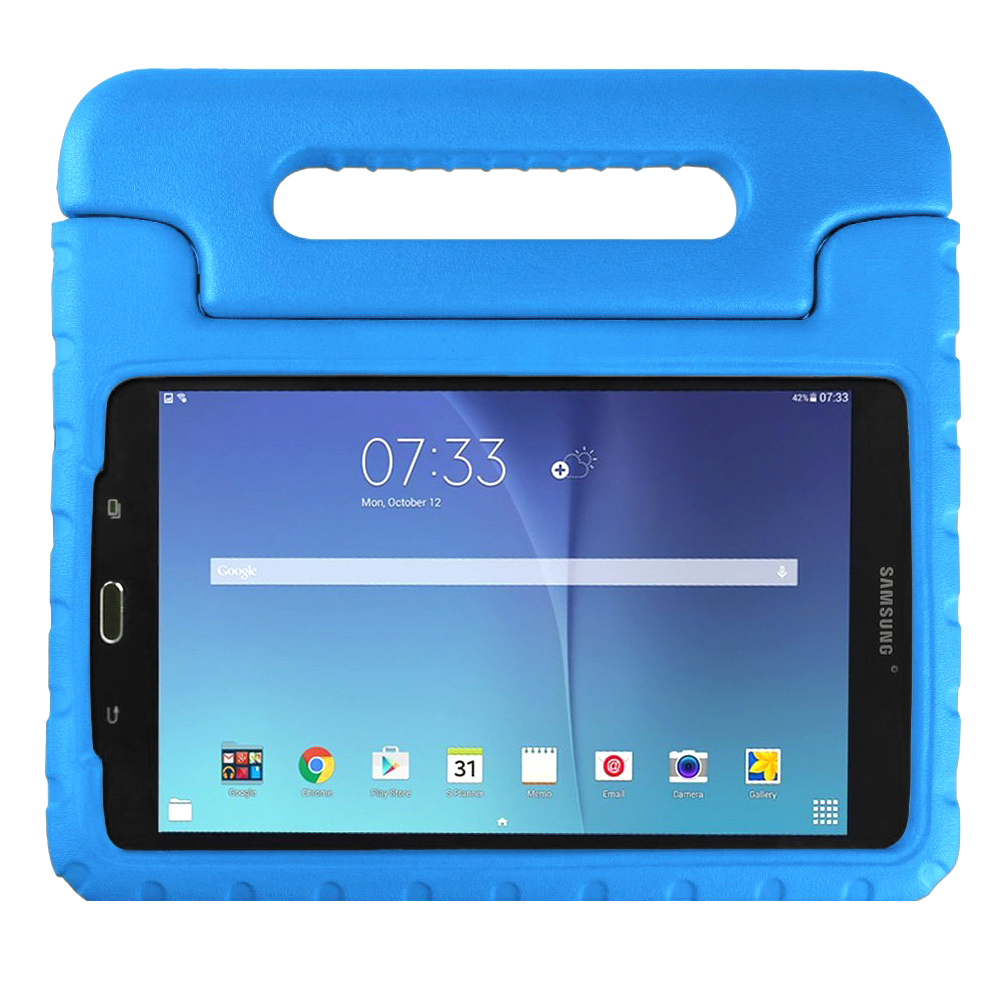 스냅케이스 에바폼 안전 타블릿PC 케이스, 블루