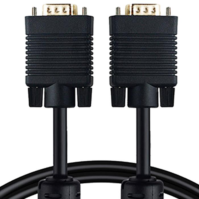 ANYPORT RGB 고급형 모니터케이블 블랙 M/M 5M, 단일상품