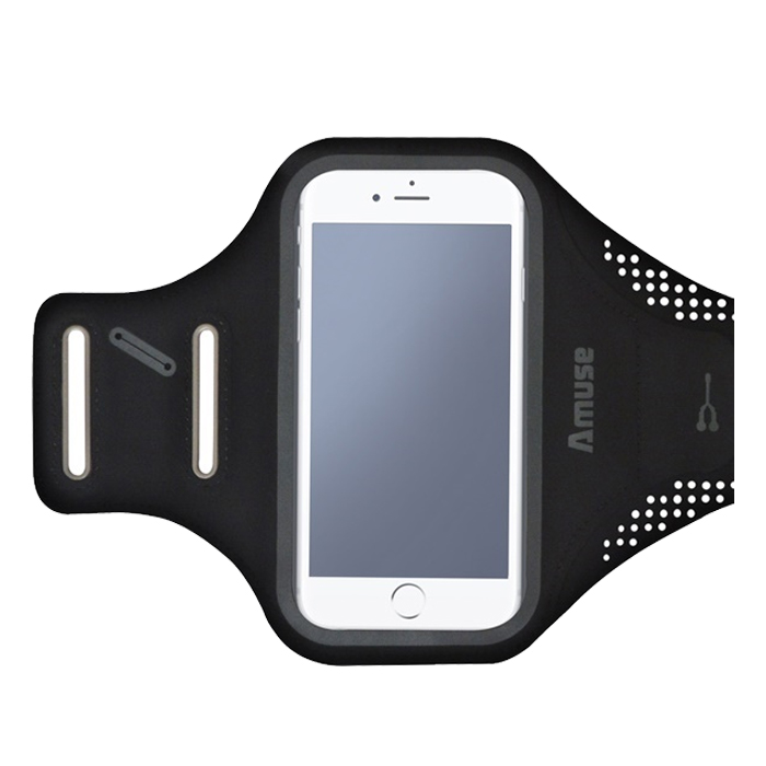 어뮤즈 5.2인치형 범용 스마트폰 암밴드 카드수납형