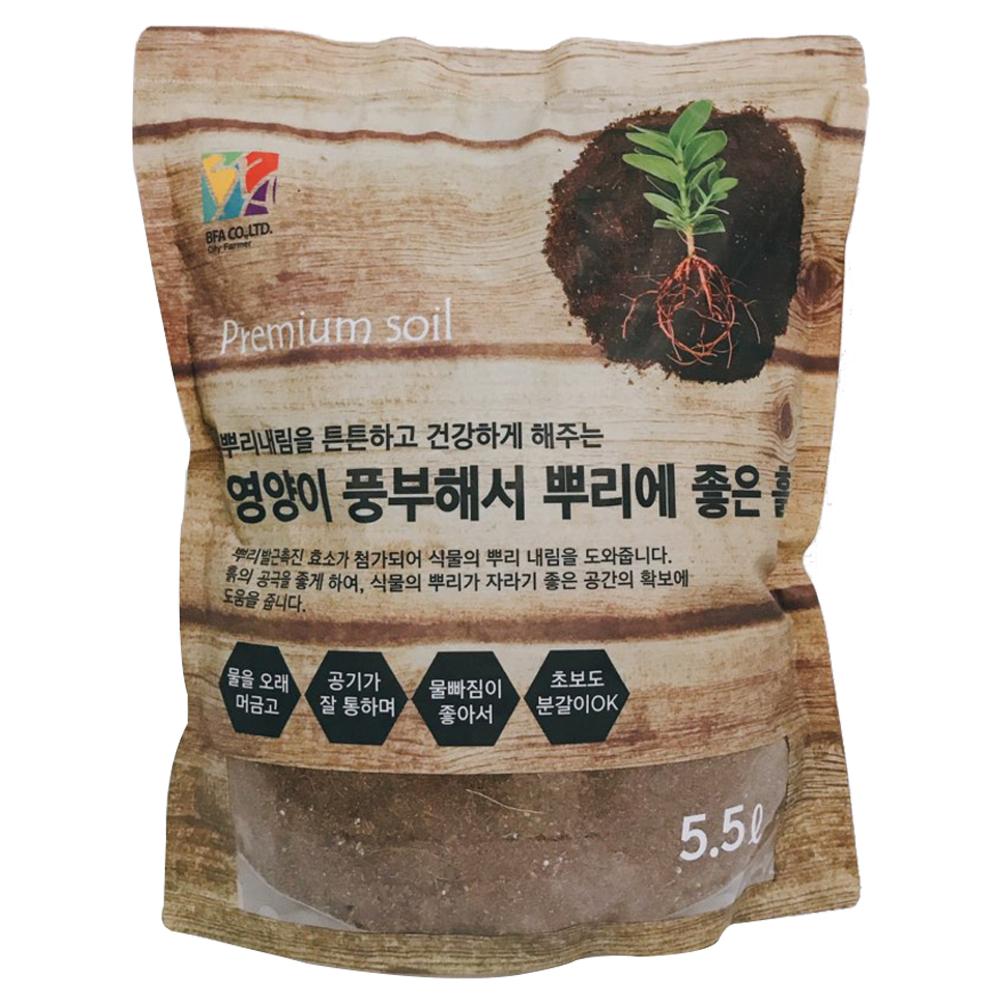 비에프에이 영양이 풍부해서 뿌리에 좋은흙, 1개, 5.5L