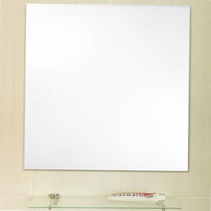 미소아이 욕실겸용 벽거울 500 x 500 mm, 투명