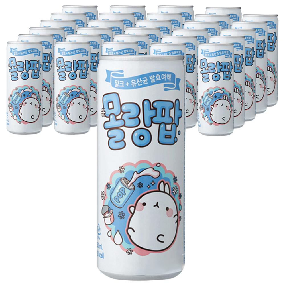 일화 몰랑팝 탄산음료, 250ml, 30개