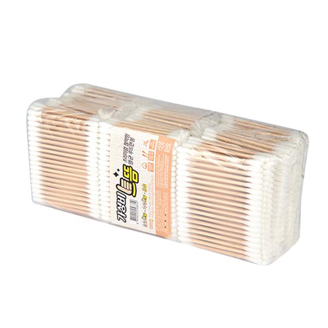 가성비 으뜸 프리미엄 절약형 멸균 우드 면봉, 100개입, 12개