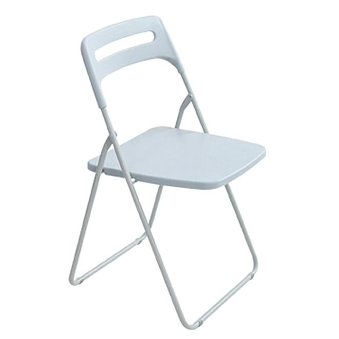 리빙해피 매트 사각 의자, 라이트그레이
