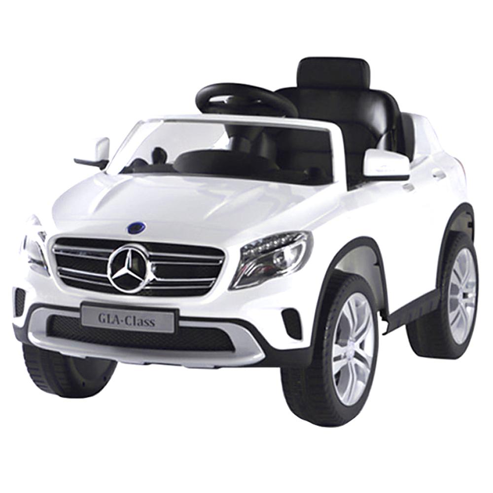 대호토이즈 벤츠 GLA-CLASS 유아전동차, 화이트