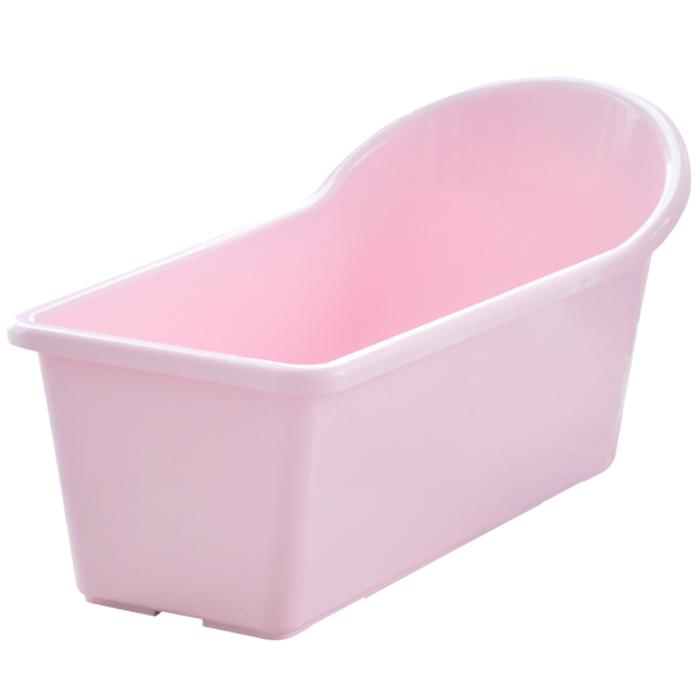 그린센스 배수구 웰빙 욕조, 핑크, 1개