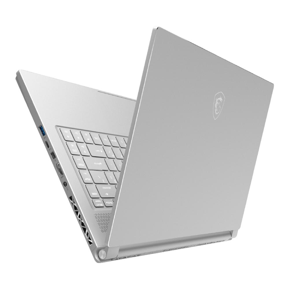 MSI 게이밍노트북 P65-8RD MS-16Q2 (8세대 i7-8750H 39.62cm WIN미포함 8G SSD256G GTX1050Ti), 실버+화이트