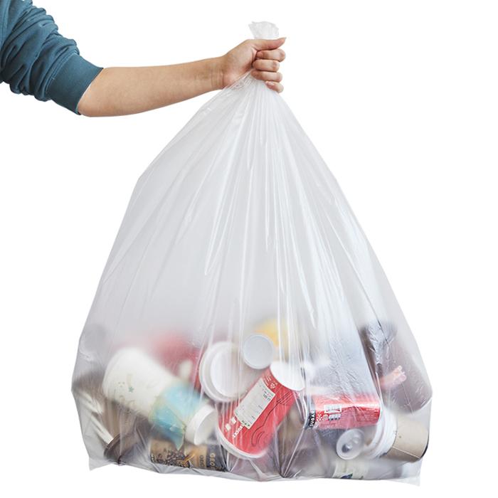 리벤스 분리수거함 쓰레기용 비닐봉투, 80L, 200매입