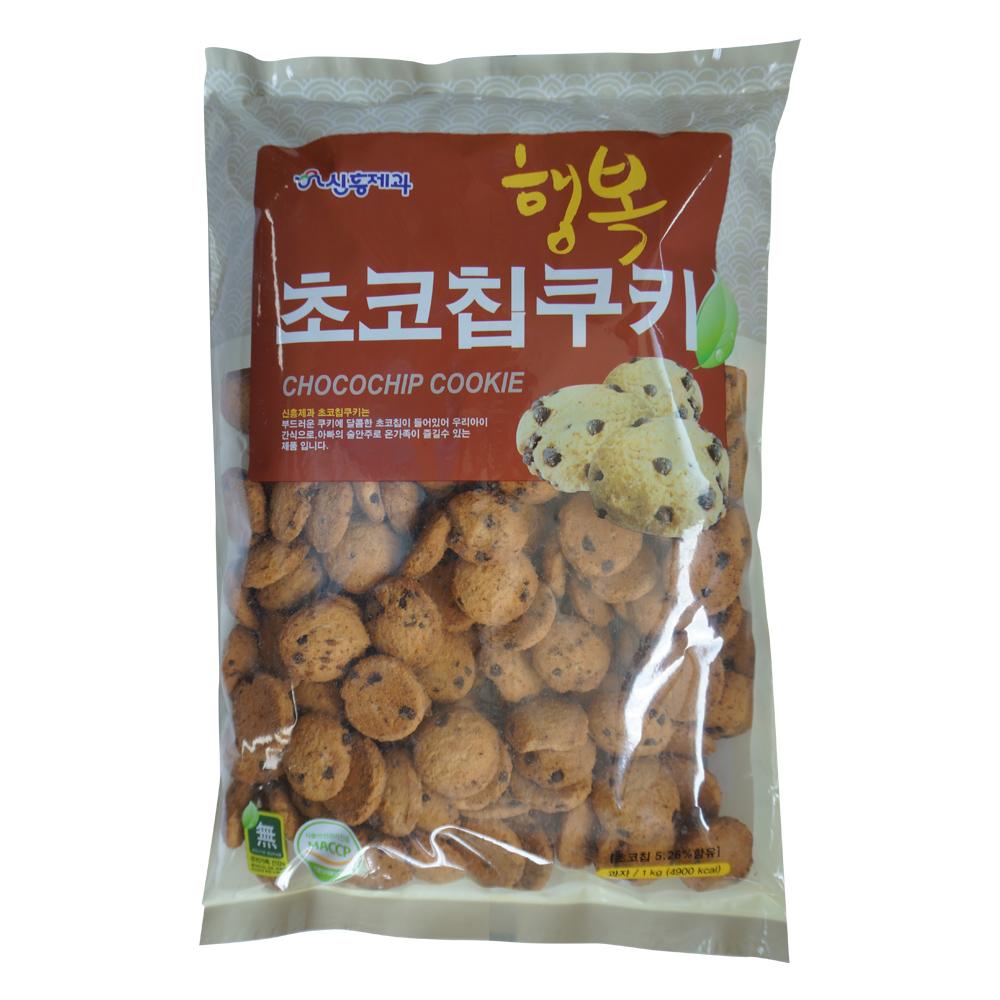 신흥 행복 초코칩쿠키, 1kg, 1개