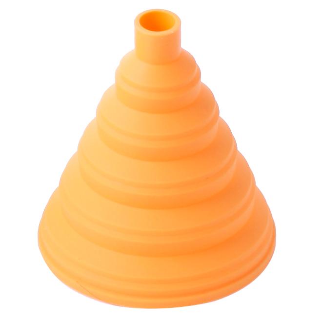 실리만 실리콘 접이식 깔대기 WSK417, 노랑