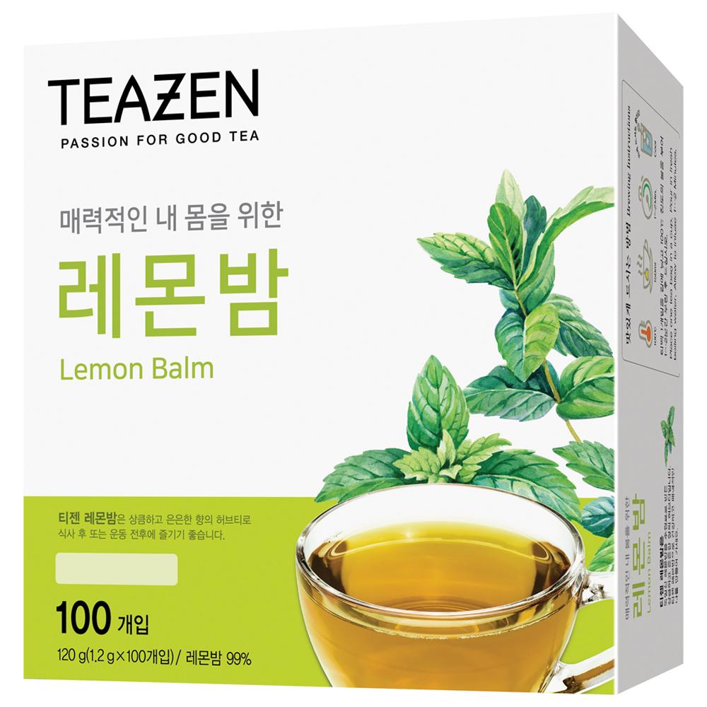 티젠 레몬밤 차, 1.2g, 100개