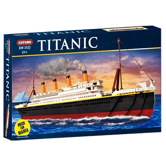 옥스포드 [옥스포드] 타이타닉 BM3522 매니아블록 3522, 8세이상