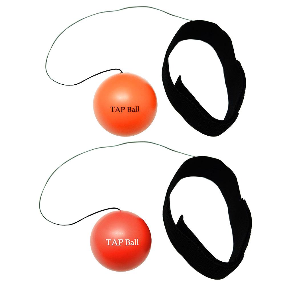크리에이티브복싱 TAP볼 초보자용 + 복서용 세트, 레드, 오렌지