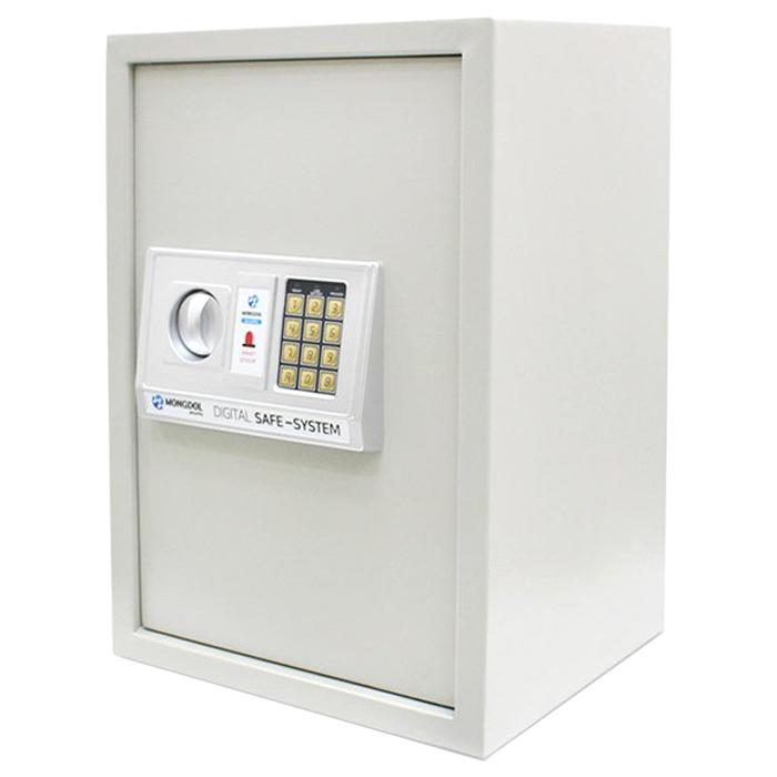 오에이데스크 디지털 충격 감지 안전 금고 50, 화이트