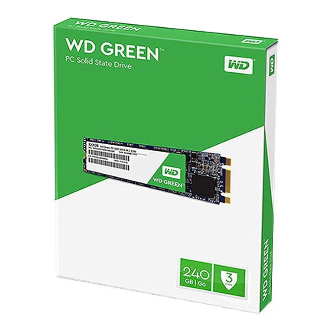 WD Green SATA M.2 2280 SSD, WDS240G2G0B, 240GB