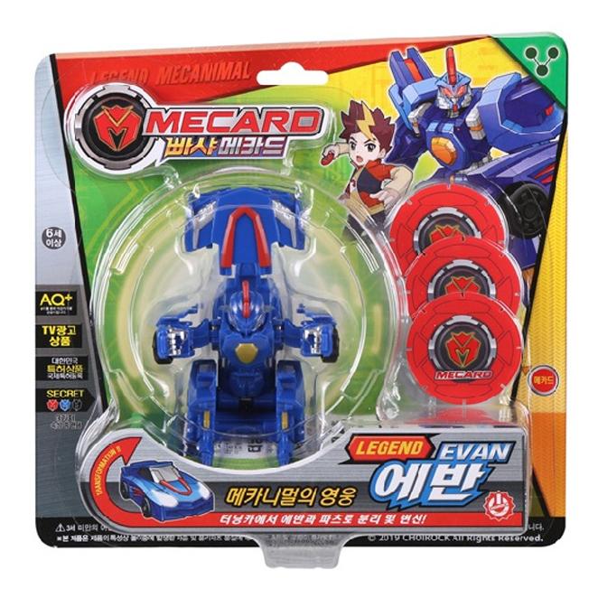 초이락 빠샤메카드 레전드 에반 로봇장난감, 혼합 색상