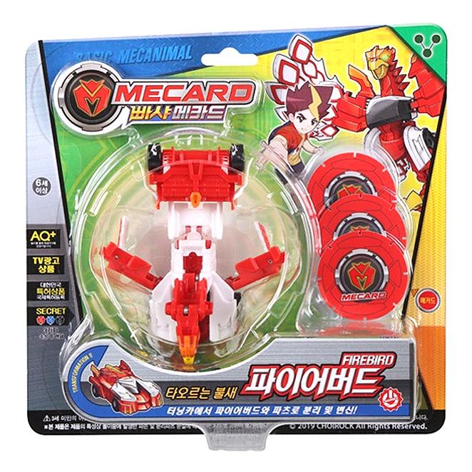 초이락 빠샤메카드 파이어 버드 로봇장난감, 혼합 색상