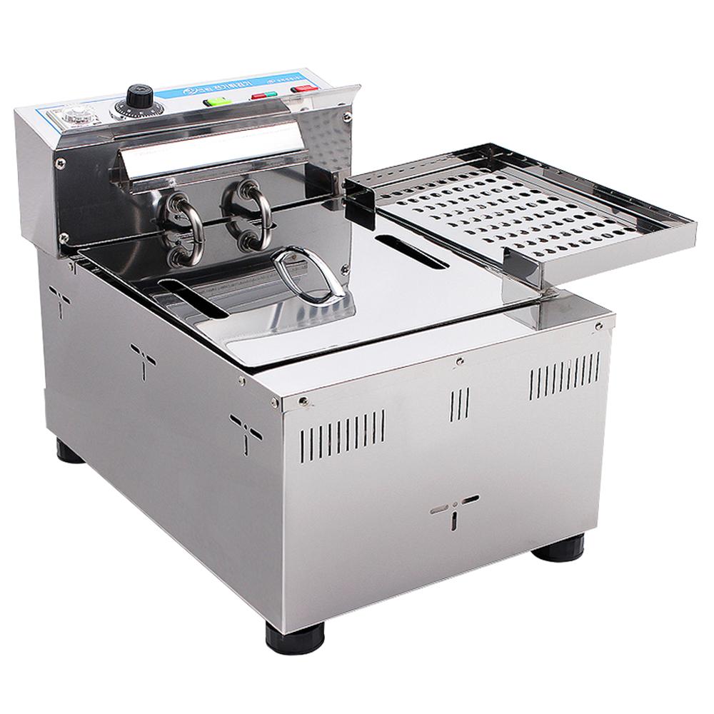 MSKorea 업소용 테이블형 전기튀김기, MSM-100T