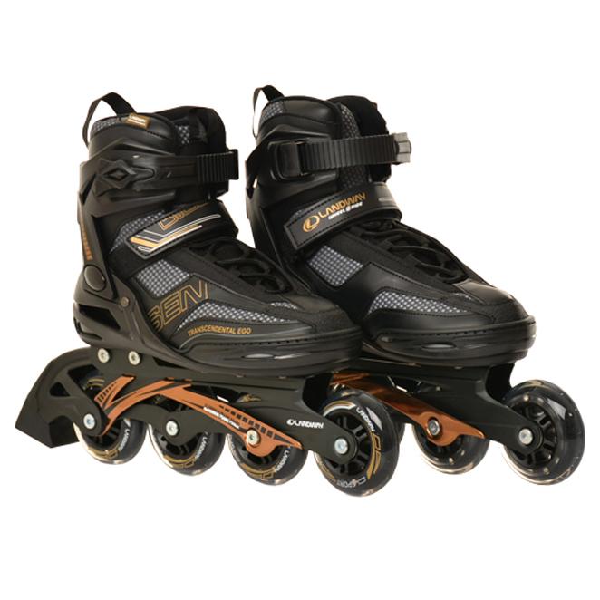 랜드웨이 센 피트니스 성인용 인라인스케이트  GOLD + BLACK랜드웨이 아동용 마운트 인라인스케이트 ABEC7  블루휠러스