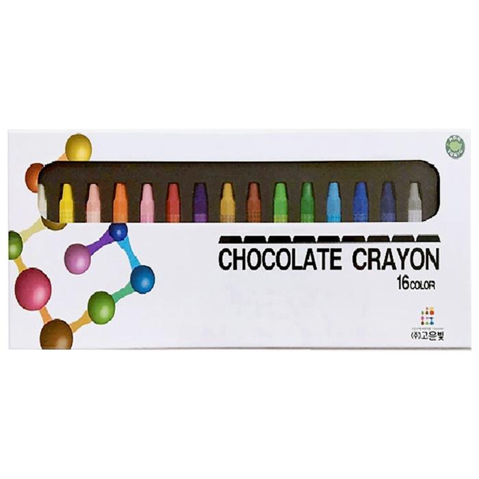 고은빛 초콜릿 크레용, 16색